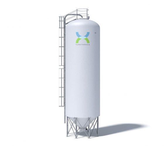100 m<sup>3</sup> gastæt silo
