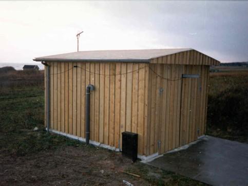 Pumpestations overbygninger - rektangulære