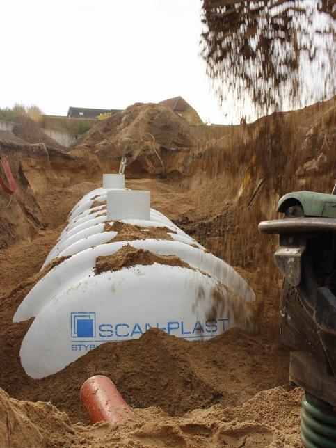 Regnvandstunnel - Ende
