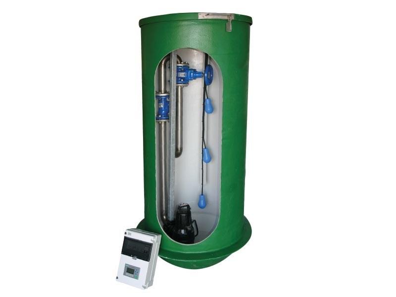 Grinder Pumpestationer SP - 2 x SEG.40.09