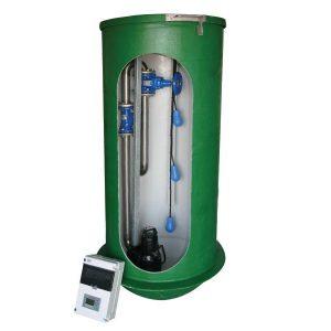 Spildevandspumpestation SP - 2 x SLV.80.80.15
