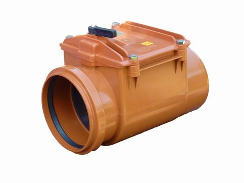 Højvandslukker med 1 klap 160 mm