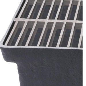 Lamelriste for Sokkelaffugter (GAP) - 25 x 100 x 25 mm