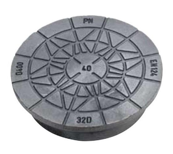 Rund svær dæksel SP-PN 32 D 40T . 315 mm