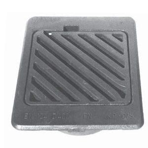 Flydende karm med diagonal rist SP-PN KP-D 40T . 280 mm og 315 mm