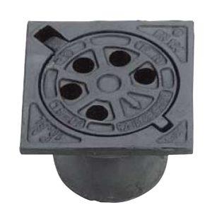 Rund firkantet fast karm SP-PN 15 SL.R 12,5T . 160 mm
