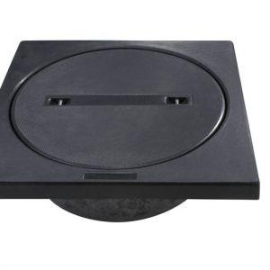 Letvægtsdæksel 4-kantet karm - 12,5 t