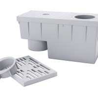 SP filterbox m. sandfang