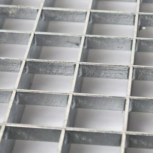 Gitterriste rustfrit stål