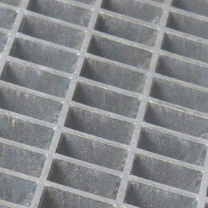 Kørestærke riste galvaniseret stål