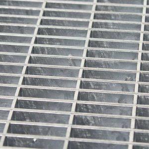 Lamelriste galvaniseret stål