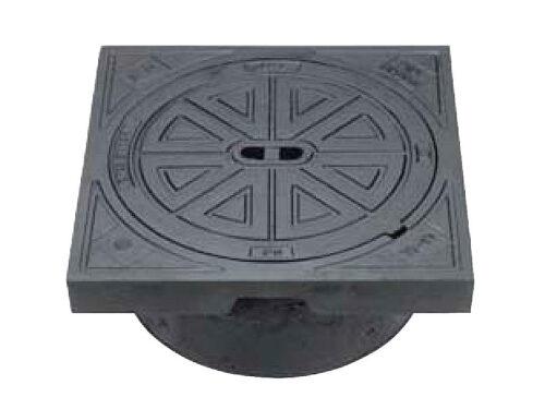 Rund firkantet fast karm - 425 mm