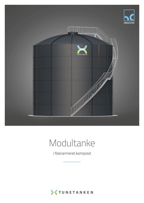 Udendørs modultanke - Brochure