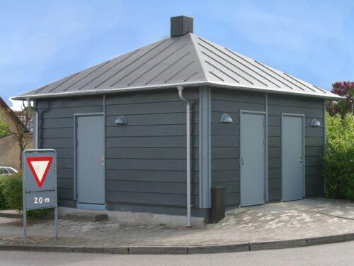 Pumpestations overbygninger - Tunetanken