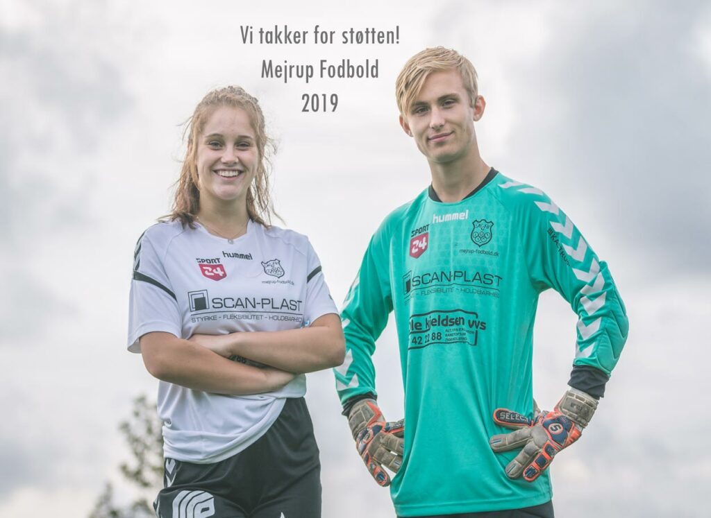 Sponsorater med Mejrup Fodbold 2019