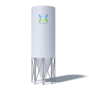 Industri silo - Tunetanken