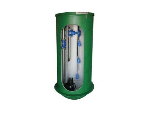 Dræn pumpestationer - Tunetanken