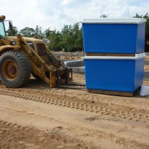 Byggeplads-container - Tunetanken