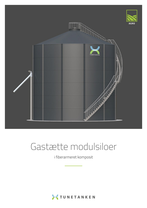 Gastætte modulsiloer - Brochure