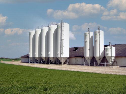 Gastætte siloer